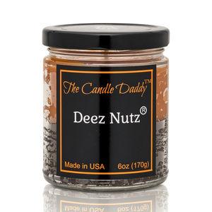 Deez Nutz Double Pour Jar Candle - Nuts NEW